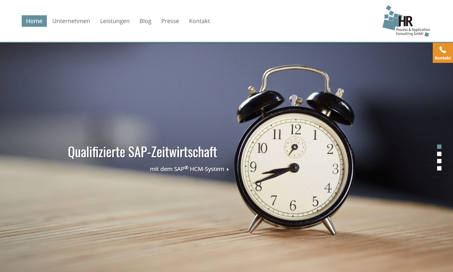 Contao Webdesign Roetgen: HR Process & Application Consulting GmbH