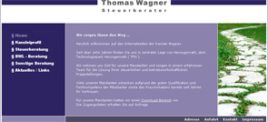 Webdesign Herzogenrath: Steuerberater Thomas Wagner