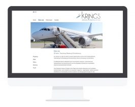 Responsive Webdesign Aachen: KRINGS Exclusive Cleaning Services