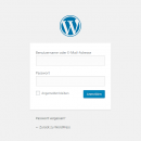 WordPress Login-Bereich